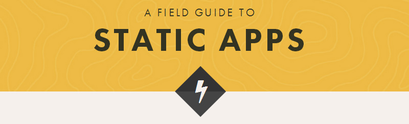 Static Web Apps — A Field Guide