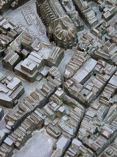 Another form of accessible data - Beautiful, bronze, touchable, 3D map of Deventer, Netherlands