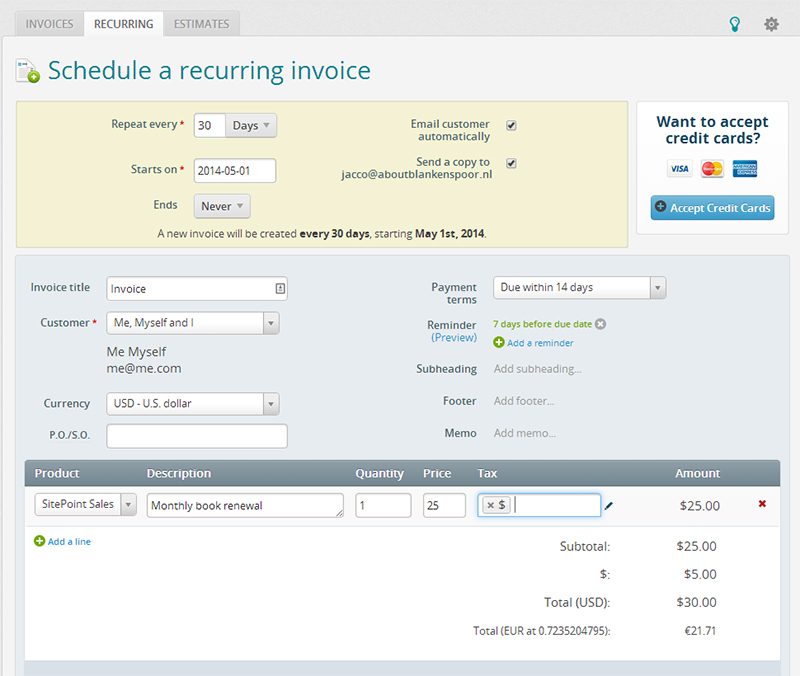 Top Accounting Tools For Freelancers And Small Businesses - What is invoice in accounting