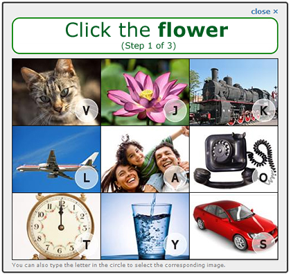 Click the flower