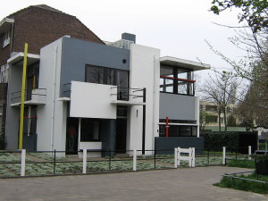 The Rietveld Schröder House - the only building realised completely according to the principles of De Stijl