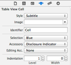 Editing Table cell view