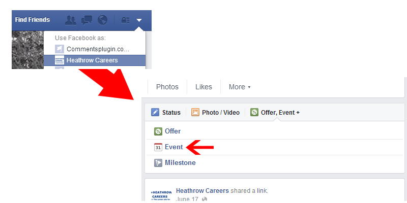 Creating and Managing Events Using Facebook Pages — SitePoint