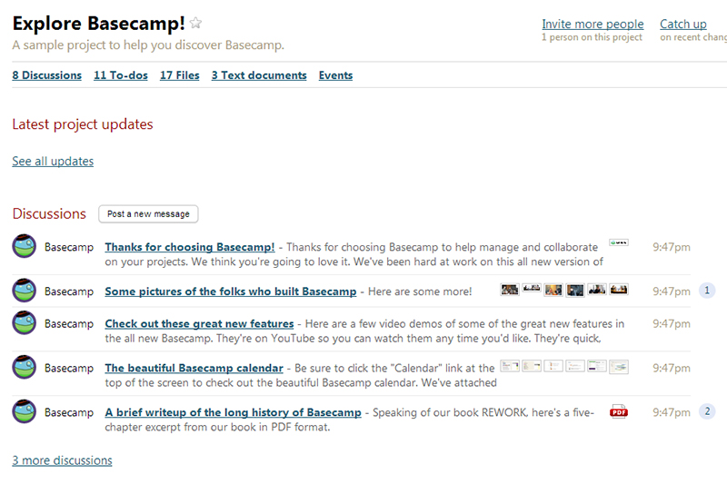 Basecamp-dash