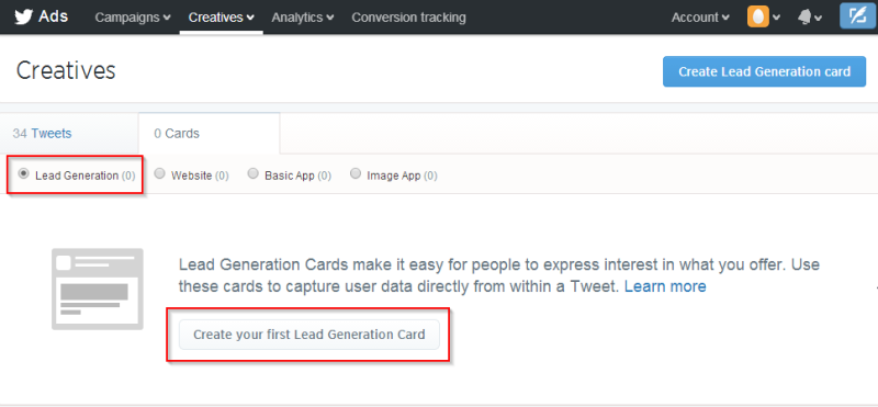 02-twitter-lead-gen-create-first-card