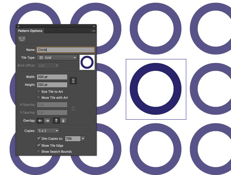 initial circles
