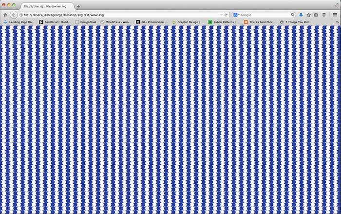 SVG pattern 30