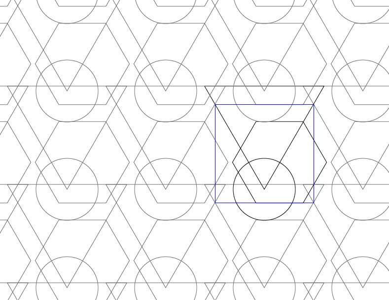 Triangle Circle Hexagon