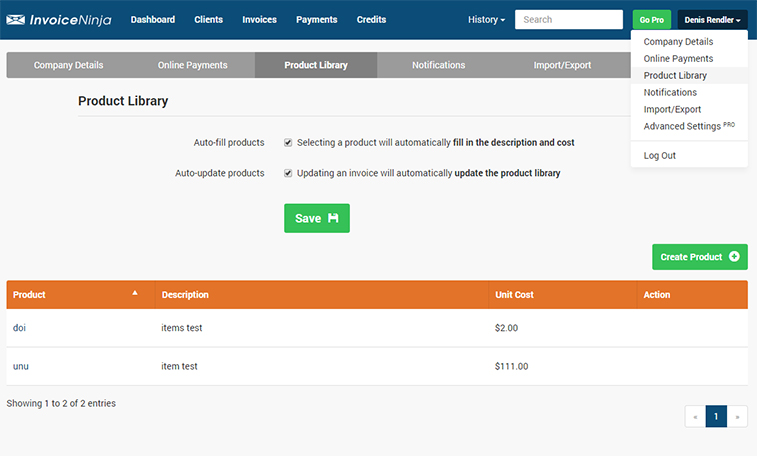 Introducing InvoiceNinja Selfhosted Invoicing SitePoint - Invoice ninja review