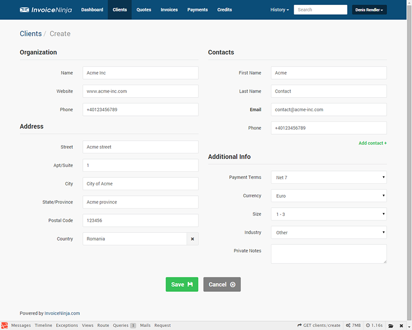 Introducing InvoiceNinja Selfhosted Invoicing SitePoint - Php invoice software