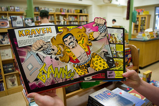 Popup superhero book