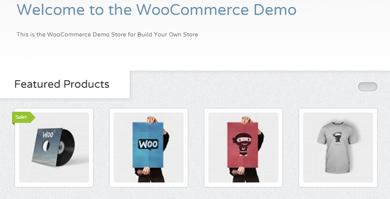 WooCommerce Demo