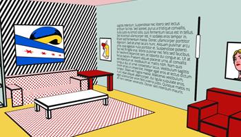 3D Lichtenstein