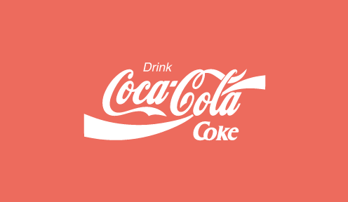 Coca Cola's logo was given a responsive once-over