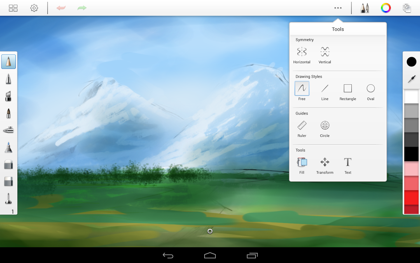 5 must have android apps for designers sitepoint sketchbookpro1 malvernweather Images