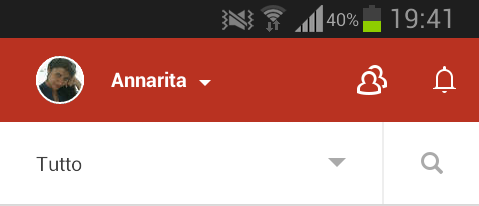 Google+ notification icon
