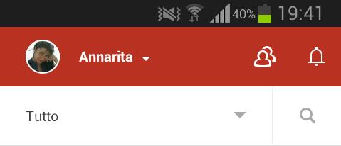 Google+ notification icon
