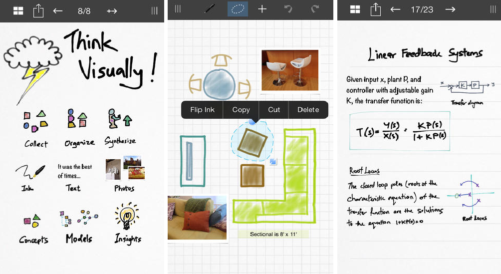 Inkflow Visual Notebook