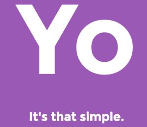 Yo: It's that simple