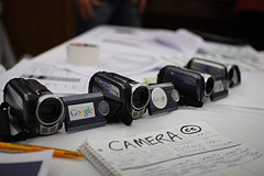 Google video cameras.