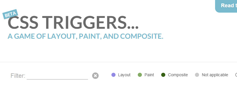 CSS Triggers…