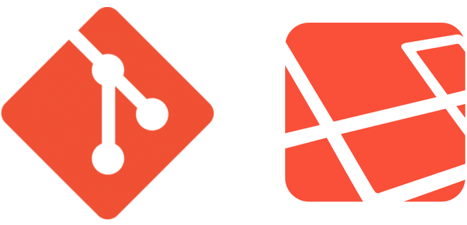Use Git and Laravel to deploy your websites with one click using a bookmark.