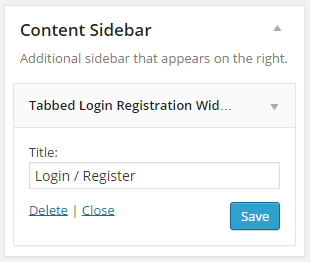 Login and Registration