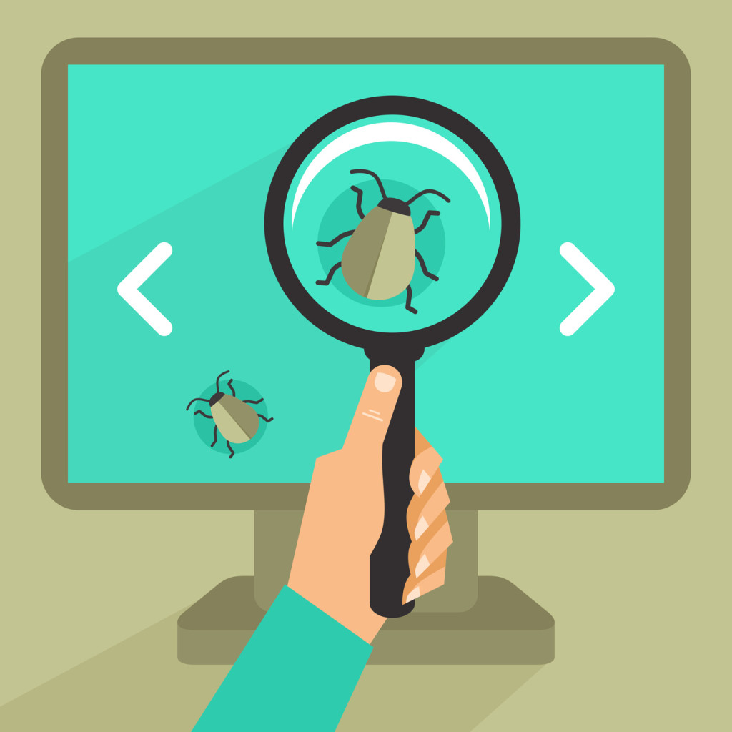 A detected bug