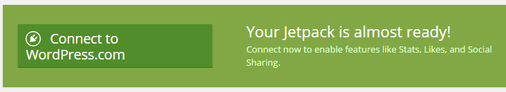 Installing Jetpack