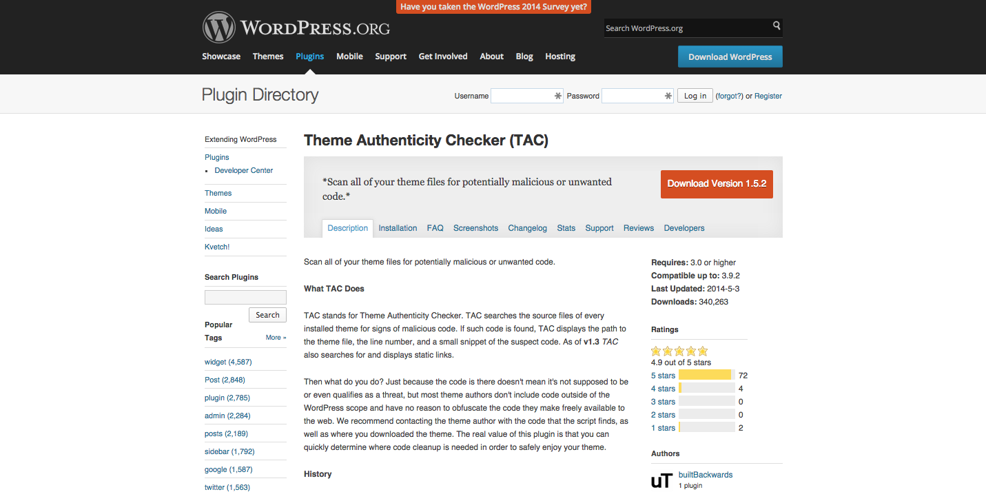 Theme Authenticity Checker