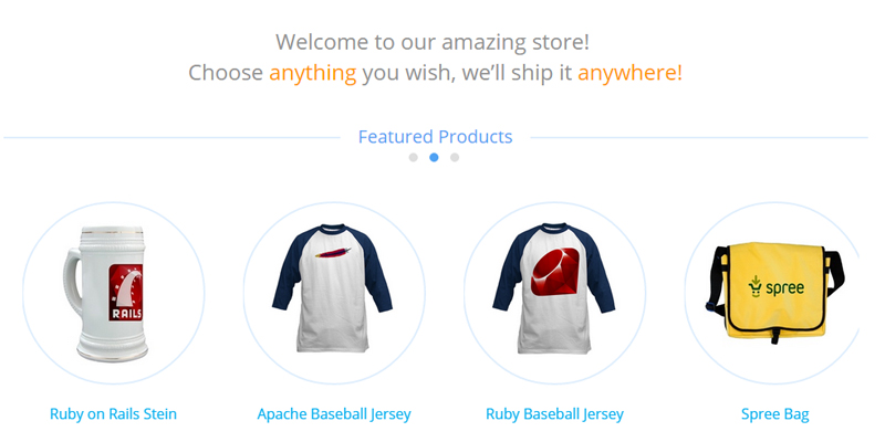SpreeCommerce example