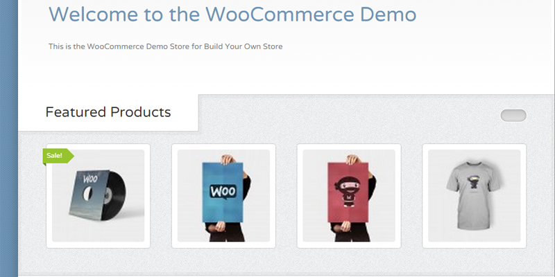 WooCommerce example