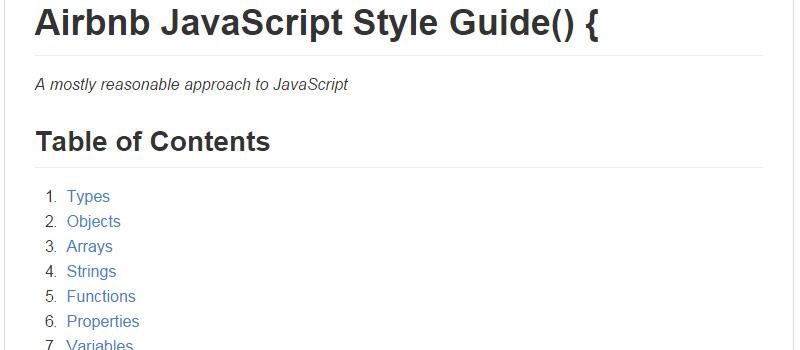 前端开发者喜欢的20个学习文档和指南