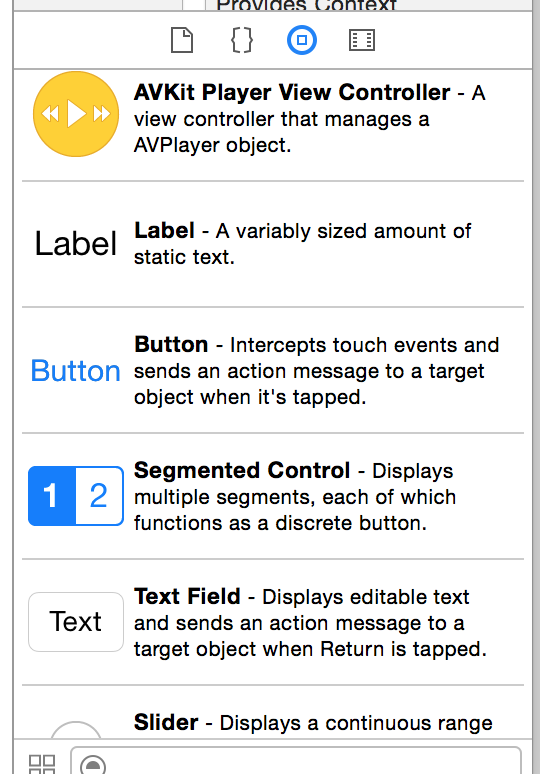 XCode Object Library