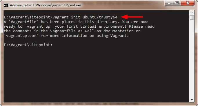 Getting Started with Vagrant on Windows — SitePoint