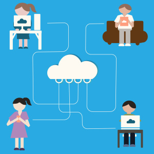 cloud Sharing Concept