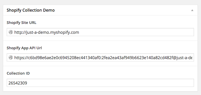 Using the Shopify API with WordPress