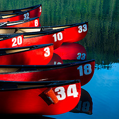 Canoes: It's hard to be between two canoes.