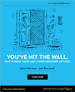 The New Yorker Paywall