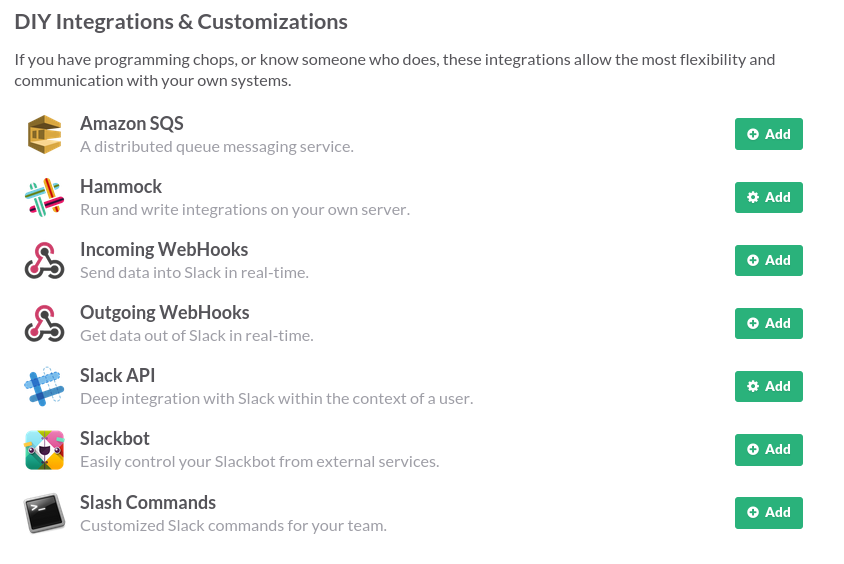 DIY Integrations & Customizations