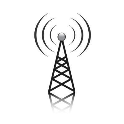 Antenna mast sign
