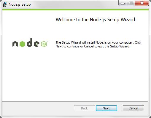 Node installation through a GUI