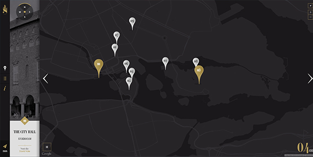 Integrating maps