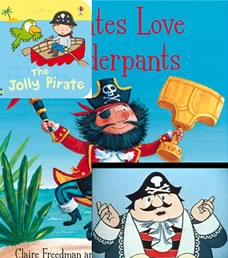 Children's books are full of friendly pirates.