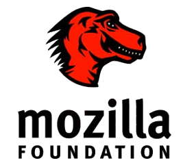 Mozilla Foundation - a red t-rex logo