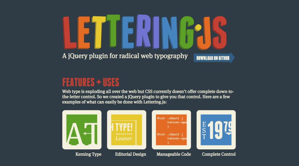 Lettering.JS