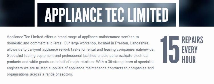 Appliance Tec Ltd. site
