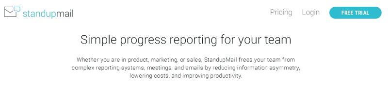 StandUpMail site