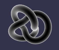 Fresnel shader result
