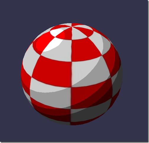 Cell shading shader result